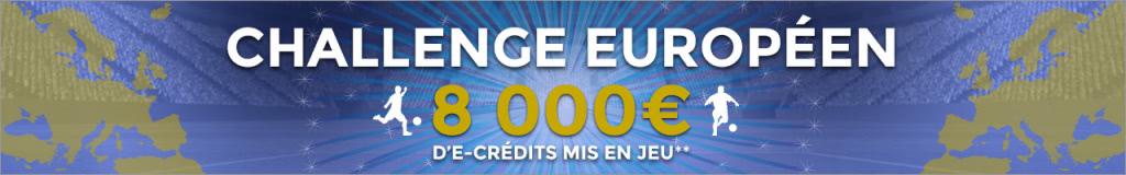 Challenge Européen chez ParionsWeb