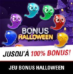 Bonus halloween chez Circus Bet