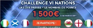 Challenge 6 Nations ParionsWeb