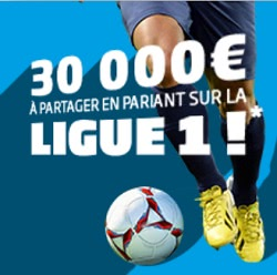 30000 euros Ligue 1 PMU