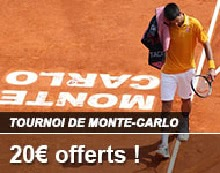 France Pari tennis Monte Carlo