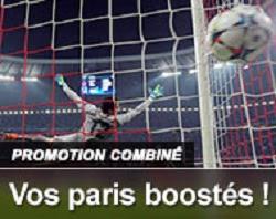 France Pari promotion combiné