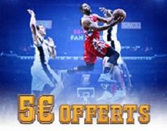 5 euros pour la NBA chez France Pari