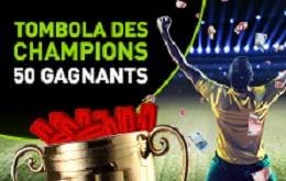 Gagnez le Tombola des Champions de Bet 777
