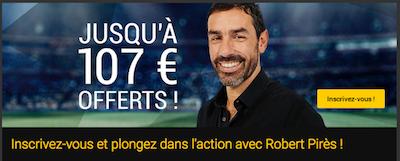 107 euros de bonus pour vos paris sportifs chez Bwin