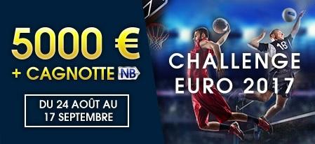 Challenge Euro 2017 chez bookmaker NetBet
