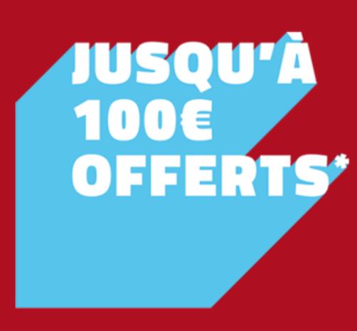 100 euros de bonus pour vos paris chez PMU