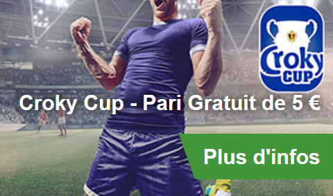 5 euros de bonus pour Bruges - Charleroi chez bookmaker Betway