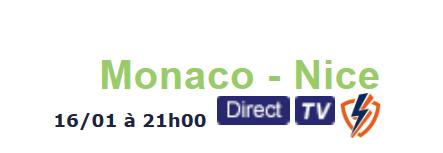 Placez vos paris sur Monaco - Nice chez bookmaker ParionsSport