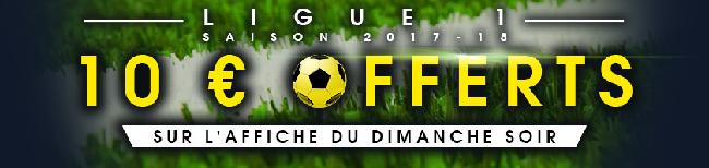 10 euros de bonus pour vos paris sur la Ligue 1 chez NetBet