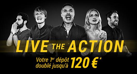 120 euros de bonus pour votre premier pari chez Bwin