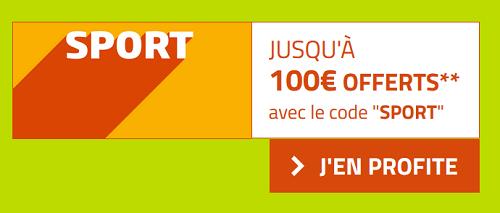 100 euros de bonus chez bookmaer PMU pour vos paris sportifs