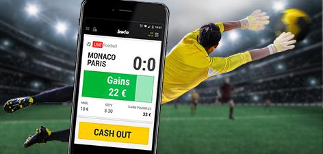 Décaissez vos paris sportifs avec le Cash Out en ligne chez Bwin en ligne
