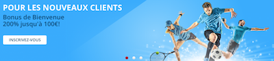 100 euros de bonus pour vos paris sportifs chez bookmaker Stanleybet