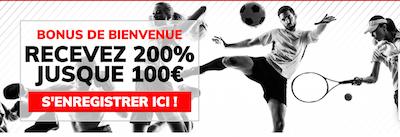200% de bonus chez Ladbrokes - recevez 80 euros pour vos paris sportifs