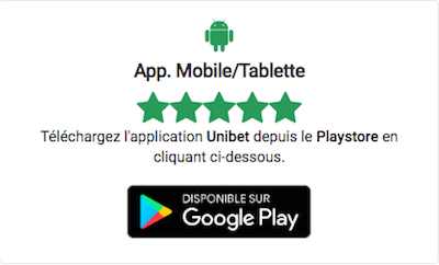 App Unibet Android