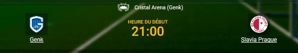 Plus de 900 paris vous attendent pour Genk - Prague chez 1xBet en ligne