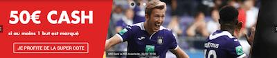 Anderlecht vs Genk Super Cote