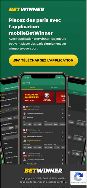 telecharger betwinner apk