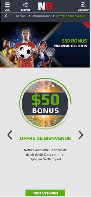 netbet com bonus