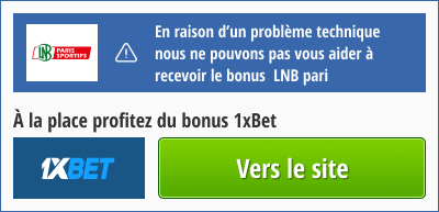 bonus 1xbet pour lnb