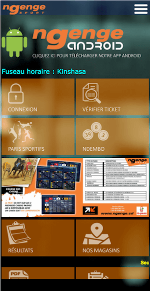 Ngenge sport Android